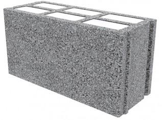 Bloc de béton (parpaing) isolé